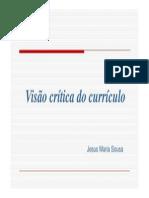 Visao Critica Do Curriculo