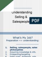 Understanding Selling and Sales People