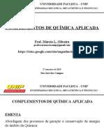 CQA - Engenharias Mecânica Mecatrônica e Produção - 1ºBIM_2º Sem_2015