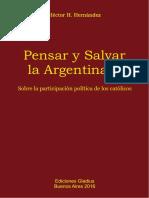 Pensar y Salvar La Argentina II