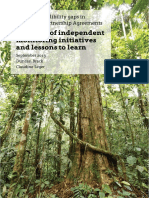 Exploring credibility gaps in Voluntary Partnership Agreements