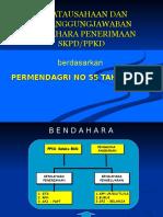 Penatausahaan Dan Pertanggungjawaban Bendahara Penerimaan SKPD-PPKD