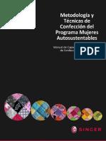 Manual de Capacitación en Técnicas de Confección Industrial