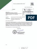Informe del JNE sobre caso de Keiko Fujimori