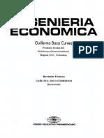 INGENIERIA ECONOMICA Guillermo Baca Currea 8va Edicion