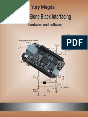 BeagleBone Black Interfacing Hardware and Software - Yury Magda