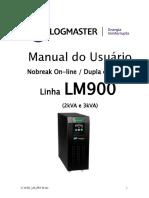 Logmaster Manual Usuario Serie LM 900 9760