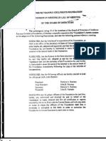 JonBenet Ramsey Foundation Resolutions