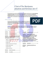 Hyperlinked Text of the California Marijuana Control, Legalization and Revenue Act