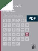 PROGRAMA ESPECIALIDAD DE CONSTRUCCIONES METÁLICAS