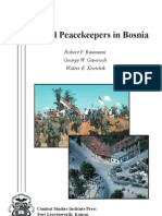 Armed Peacekeepers in Bosnia