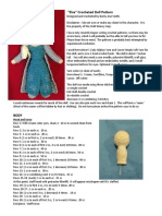 Elsa Crocheted Doll Pattern