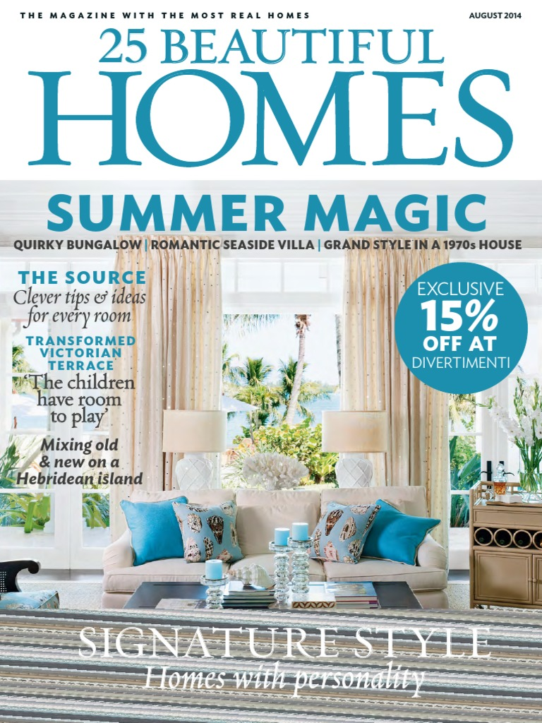 25 Beautiful Homes - August 2014 UK.pdf | Chair | Kitchen
