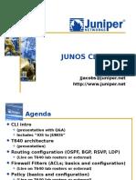 Junos CLI Demo v4.5