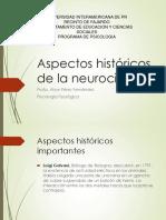 Aspectos Históricos de La Neurociencia 2015