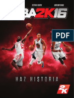 NBA 2K16 PS3 Manual online (español)