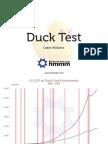 Grant Williams Duck Test
