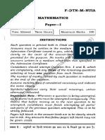 Ias Main 2012 Math Paper i