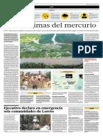 Perú Contaminación Mercurio - 2016-03-12