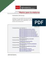 Matriz Elaboración Del PAT- Pedrogalvez