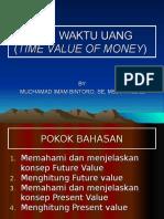 Nilai Waktu Dari Uang