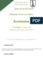 Conceptos de La Economía