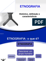 Etnografia, Historia, Conceito e Caracateristicas