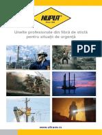 Nupla - Catalog unelte fibră de sticlă pentu pompieri