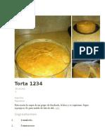 Torta 1234