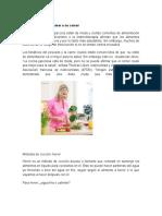 Metodos de Preparacion de Alimentos