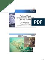 Embankment Failure in UK