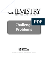 Dingrando G. Glencoe Chemistry_ Matter and Change. Challenge Problems 2002