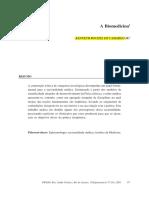 Camargo (1997) a Biomedicina