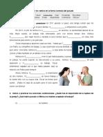 B2.Práctica Pasados y Condicionales. Respuestas