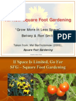 Square Foot Intensive Gardening