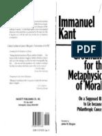 Kant- Groundwork for Metaphysics of Morality