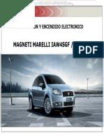Manual Sistema Inyeccion Combustible Encendido Electronico Magneti Marelli Iaw 4sgf Df Motor 19 16v Control