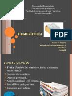 Hemeroteca Laboral.