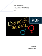 Educacion Sexual Infantil