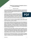 Proyecto Ley Transparencia