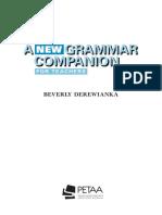 A New Grammar Companion - Baverly Derewianka