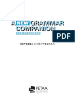 A New Grammar Companion - Baverly Derewianka