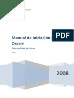 Manual de Iniciacion a Oracle