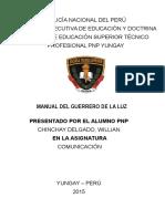 Monografia El Guerrero de La Luz