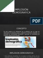 IMPLOSIÓN DEMOGRAFICA & DESARROLLO