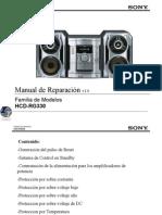 SonyHCD RG330 Manual de Reparacion