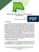 Lopes, f.l. Publicidade Em Língua Espanhola Análise de Processos Argumentativos- Anais Do Icnel Outubro de 2010 - Art. Copleto