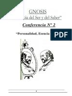 02- Personalidad, Esencia