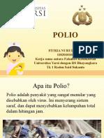 Penyuluhan Polio
