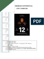 UCCI Cine y Derecho Abril - Junio 2010